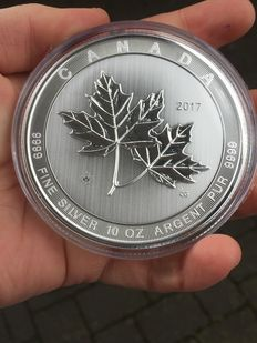 Canada - CAD 50 - 10 oz Maple Leaf - Magnificent, 2017