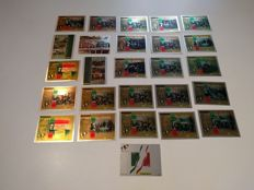 Italian Republic, 2011 – Lot of special stamps and special sheets on silver foil, 26 pieces.