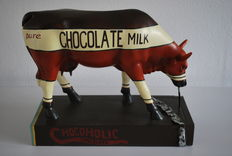 Judy Tuckness for Cow Parade - type Chocoholic - Extra large and retired.