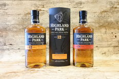 Highland Park 12 YO in original tube + 18 YO - 2 Bottles