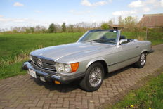 Mercedes - 380 SL roadster - 1984