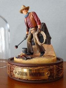John Wayne, limited edition sculture, numbered