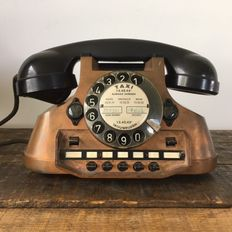 Beautiful  Old Copper Taxi Telephone, 1969