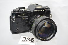 Special Pentax super A with Porst color reflex 1.2 55 mm lens
