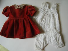 Jumeau doll clothes ensemble - France