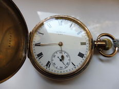 Waltham men's savonette pocket watch, early 1900s