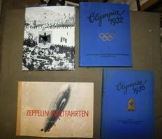 4 original, complete collection picture albums from the 3rd Reich