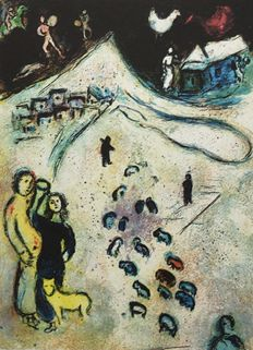 Marc Chagall (after) - Cycle Daphné & Chloe