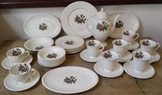 Wedgwood Moss Rose 34-delig servies