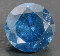 0.78 ct Blue Diamond ** no reserve **