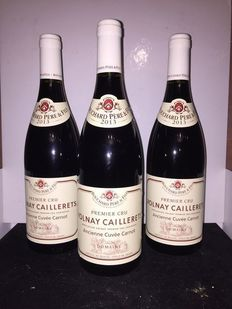"2013 Volnay Premier Cru ""Caillerets"" – Ancienne Cuvée Carnot – Bouchard x 3 bottles"