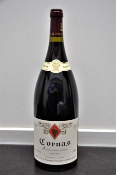 2004 Cornas by Auguste Clape, red wine of the northern Rhone-area in France, one bottle of 1,5l /magnum