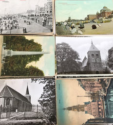 The Netherlands - legacy collection consisting of 684 postcards topography