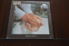 Lot of 4 exclusief albums of Roxy Music and guys of the roxy family plus 3 lp's of famous British artists