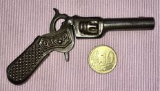 Miniature metal pistol/revolver, brand DRP/CID. Possible German or Belgian manufacture. Made around 1900.