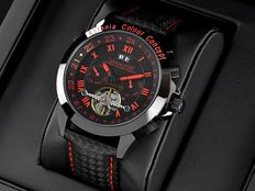 Calvaneo 1583 Astonia Colour Concept Red Fireline Rallye Edition - Men's watch - New