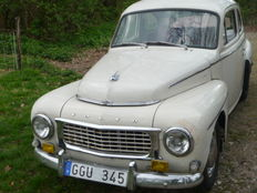 Volvo PV 544 - 1964 - with the original B18 engine and 4-speed transmission