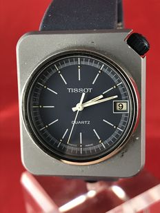 Tissot futuristic men's wristwatch, 1970s