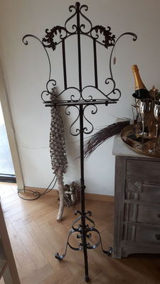 Wrought iron lectern, France, 2nd half 20th century