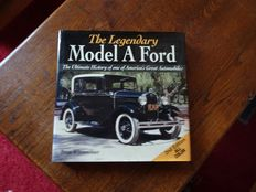 Set of 2 books - Ford Model A / Ford V- 8 S - The Legendary Model A Ford & Famoux Ford V8S - 2002 & 2005