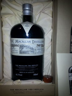 Macallan 1861 Réplica Bottle OB