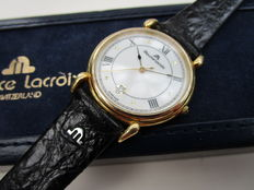 Maurice Lacroix - classic model - men's watch - early 21st century - original packaging