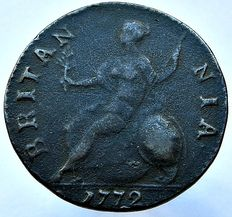 United Kingdom - ½ Penny 1772 Georges III