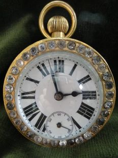 Desk ball clock - period 1850-1900