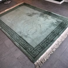 Stunning green Chinese carpet - 235 x 166 - unique opportunity