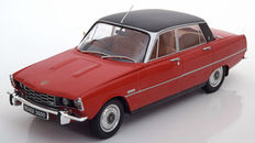 MCG Models - Scale 1/18 - Rover 3500 V8 RHD 1974 - Colour Red/Black  - Metal - Limited