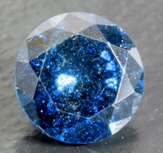0.44 ct Blue Diamond ** no reserve **