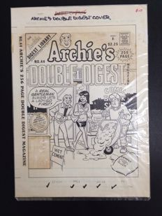 Decarlo, Dan - original cover - Archie's Double Digest no. 44