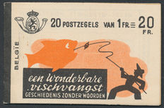 Belgium – Collection blocks with stamp booklet 35B