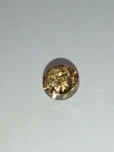 0.63ct Natural Fancy Brown VVS2