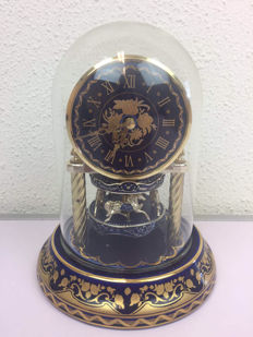 Franklin Mint-The Grand Carousel Anniversary Clock - Collectors item - gold-plated 24 k