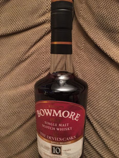 Bowmore Devil's cask - First fill sherry casks - 10 years old