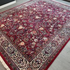 Beautiful signed Isfahan Persian carpet - 305 x 237 - Very good condition