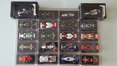RBA / How Wheels - Scala 1/43 - Lot with 20 models: 20 x Classic Formula 1