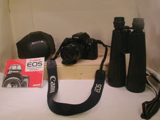 Canon EOS 1000 F /35-105 mm EF /hunting binoculars  8x56, similar to Optolyth