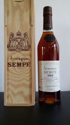 Armagnac Sempé - Vintage 1965 - 28 years old