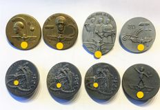 "German Reich ""8 Badges and Medals, 1933 to 1939"""