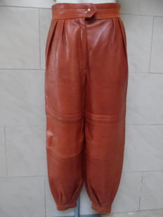 Escada – Vintage Aladdin pants genuine leather