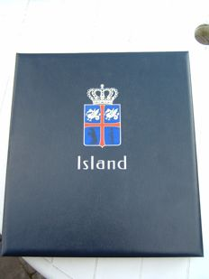 Iceland 1873/1989 – Collection in Davo album