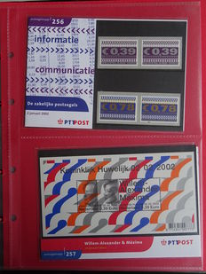 The Netherlands 1982/2002 – Complete collection of stamp booklets in eight albums
