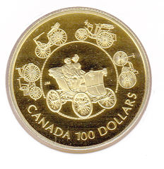"Canada – 100 Dollars 1993 ""Carriage"" – Gold"