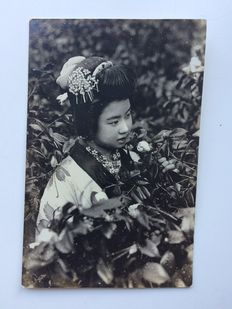 Asiatics; Collection of more than 100 photos and photo cards from China and Japan - c. 1915 / 1920