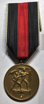 1933-1945 3rd Reich - Medal Commemorating the 1st of October