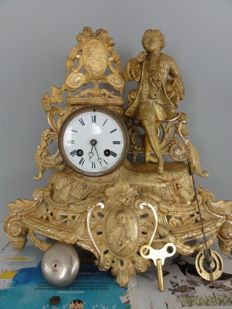 French romantic pendulum - period 1880