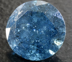 0.86 ct Blue Diamond ** no reserve **