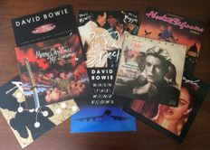 "David Bowie: Lot of 4 Lp albums and 4 12"" inch Lp's - Virgin- Emi- RCA- 1978 / 1986"